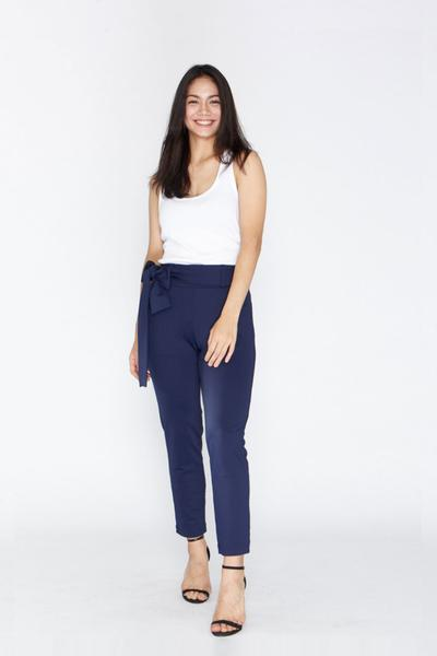Leze the Label Navy Pants