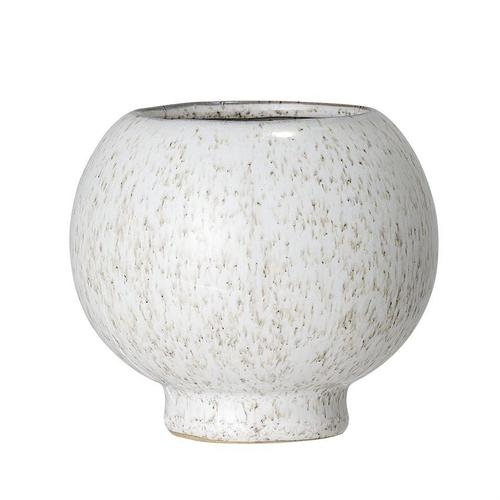 Speckle Stoneware Flower Pot from The Lifestyled Company