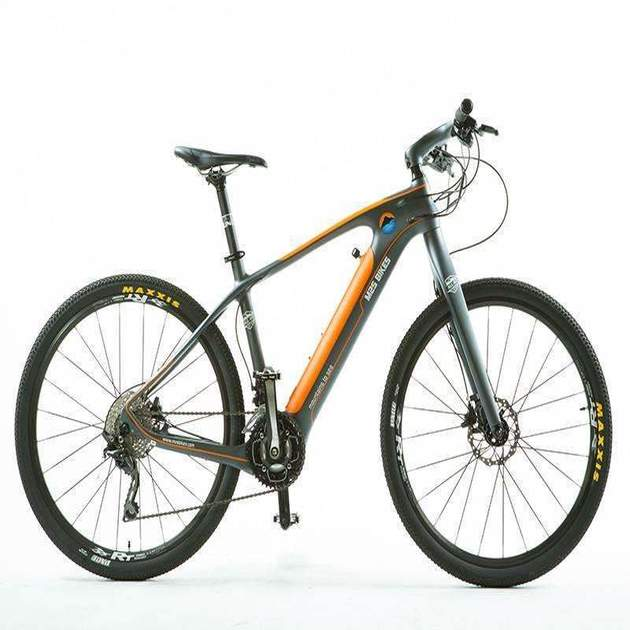 All Go Carbon Fiber Electric Bike from M2S Bikes