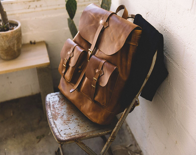 Brown Backpack from WP Standard