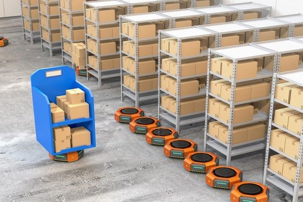 Using Robots to Improve Fulfillment Efficiency