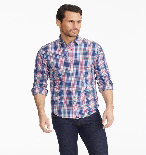 Torrey Ridge Plaid Shirt from Untuckit