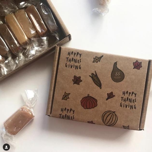 Custom packaging for Thanksgiving