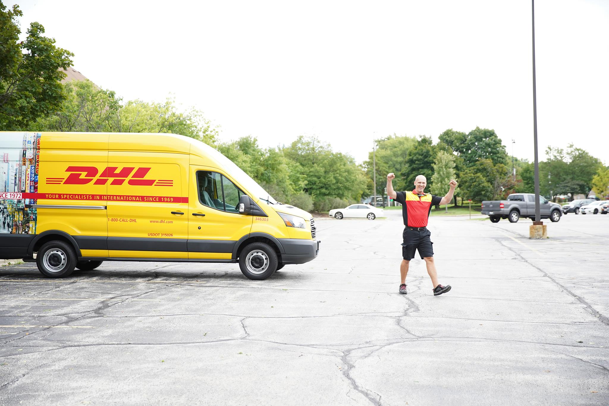 DHL Saturday and Sunday Deliveries