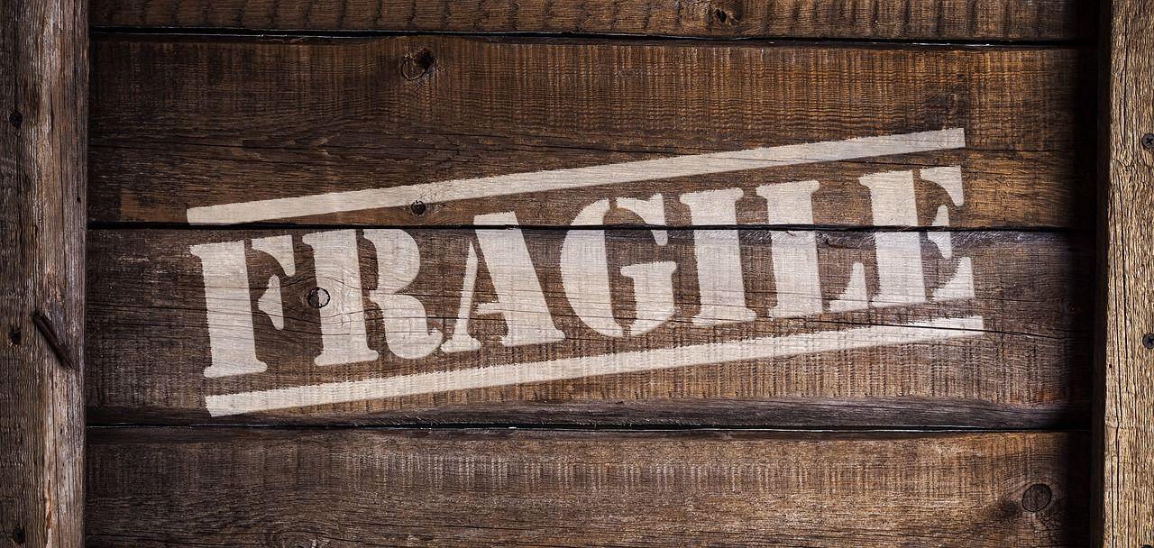 Fragile Sign to Prevent Damaged Goods