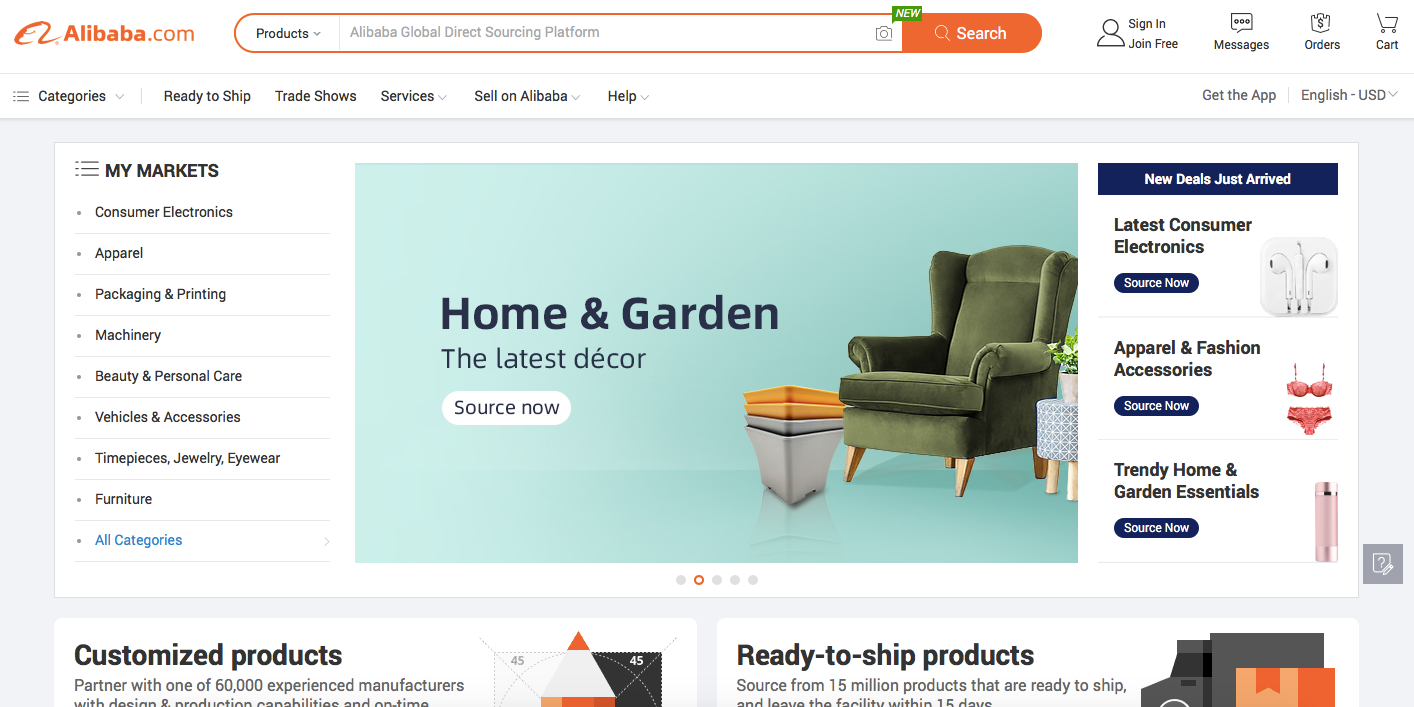 Wholesale eCommerce Feature Example
