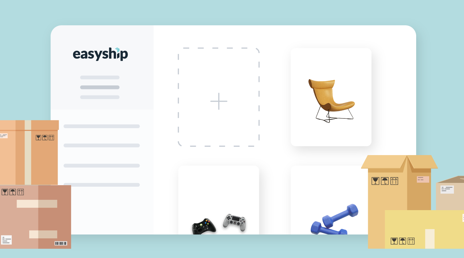 Easyship: Product Page