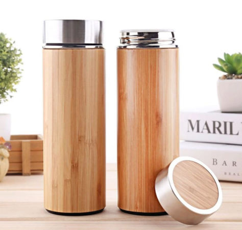 Natural Bamboo Thermos from Inspire Ecoware