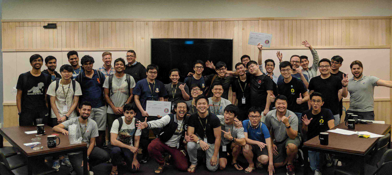 eCom hackathon SG participants