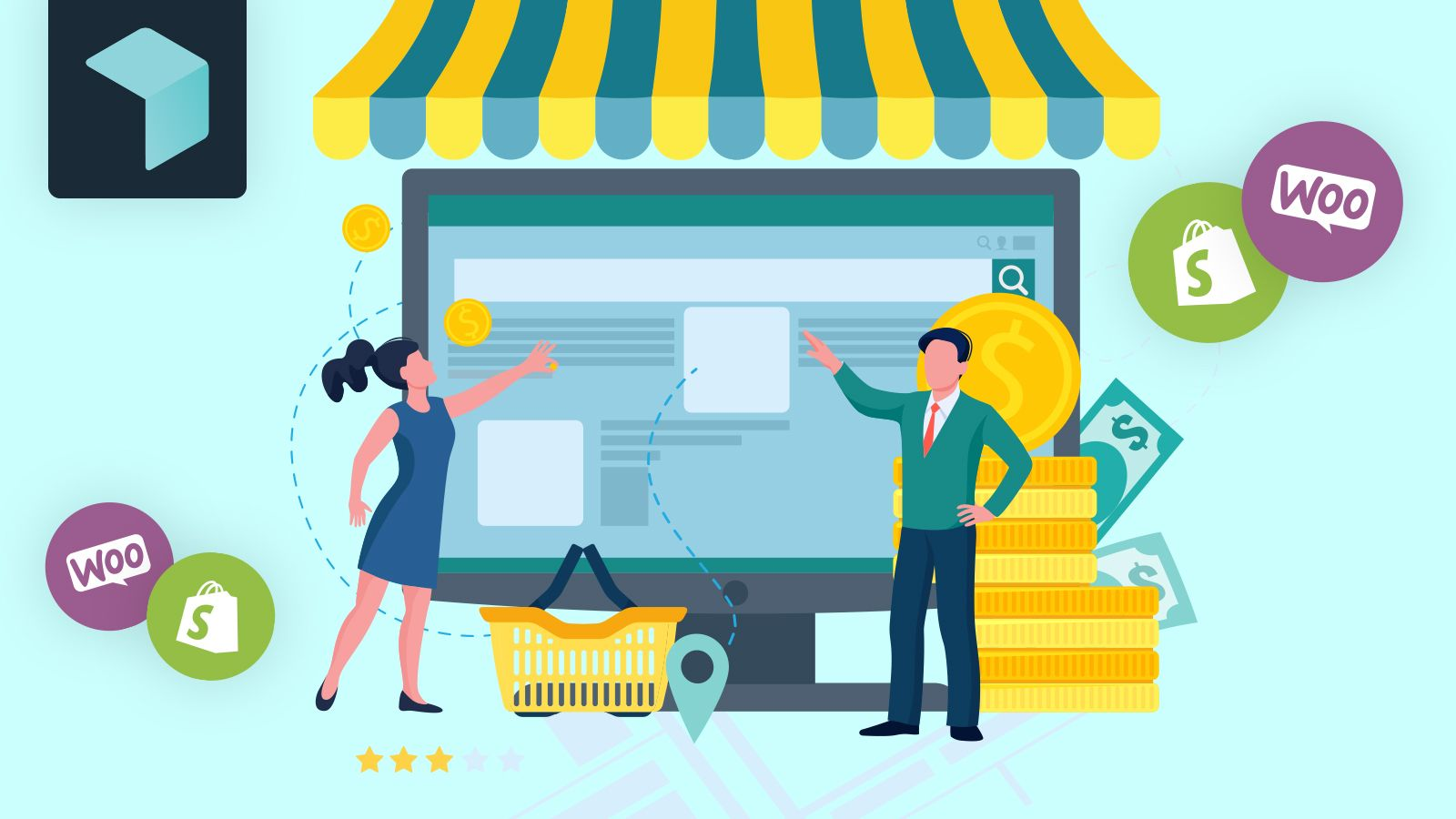 Easyship Feature: Checkout Plugins for Shopify and WooCommerce