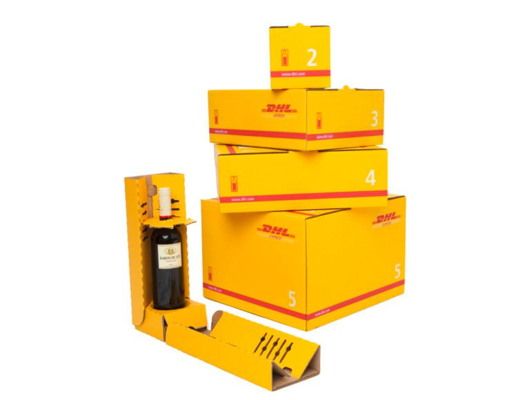 DHL Shipping Boxes Sizes
