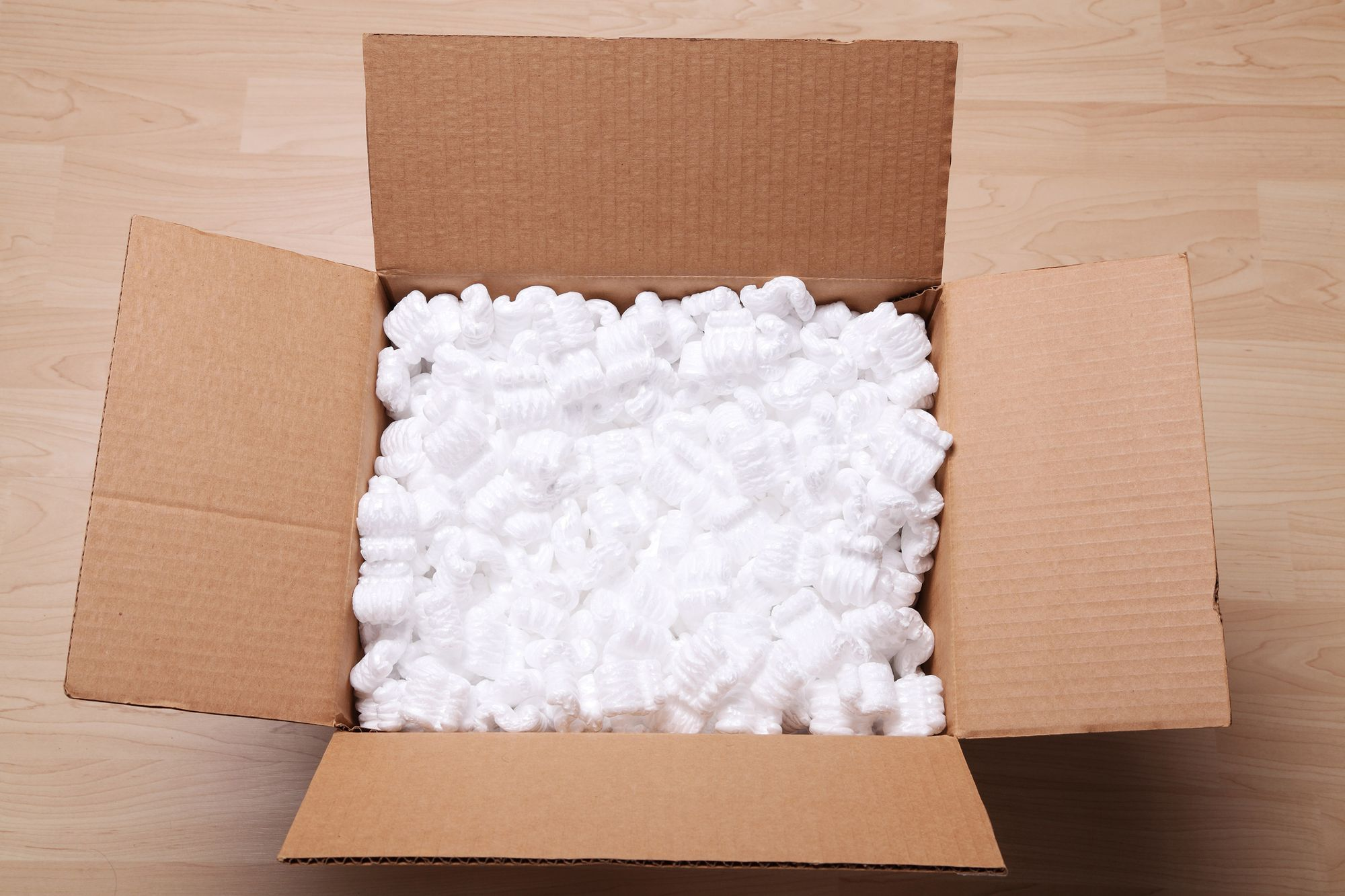 Dunnage packing peanuts