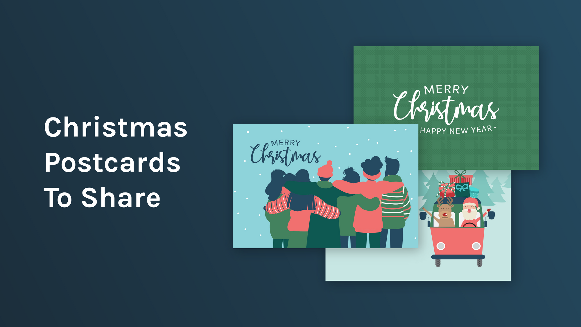 Free Downloadable Holiday Postcards