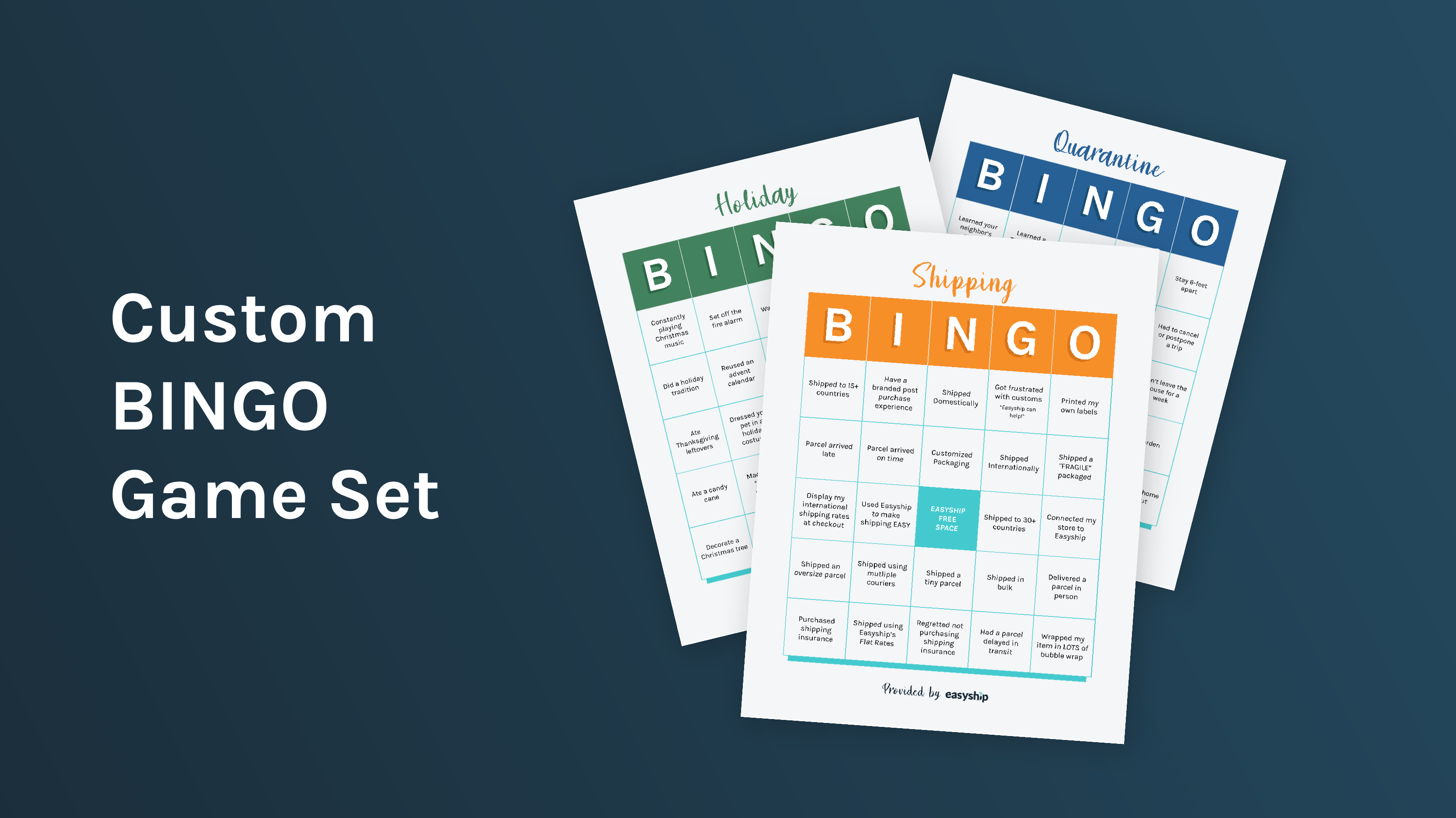 Free Downloadable Bingo Game Set