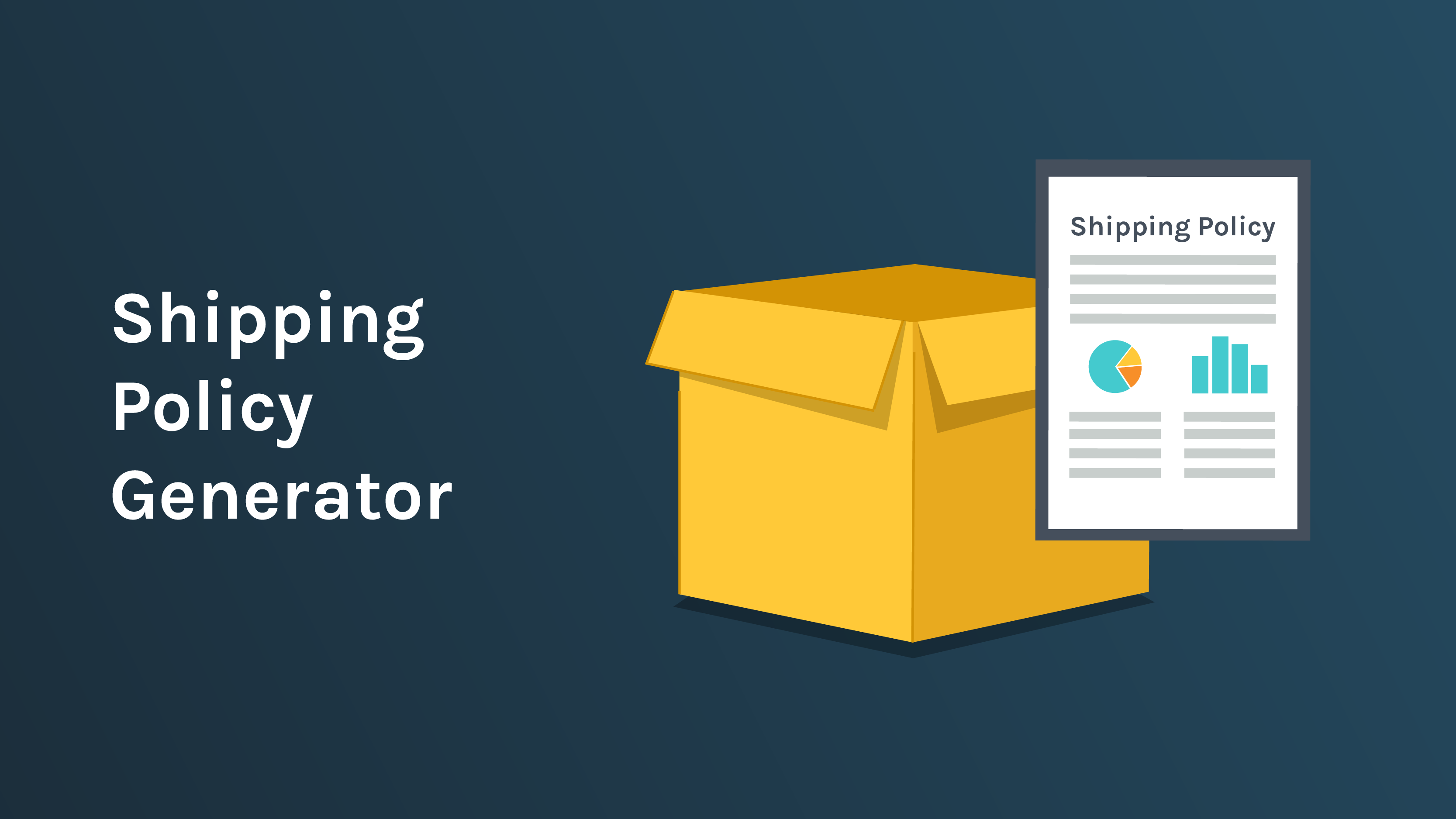 Free Downloadable Shipping Policy Generator