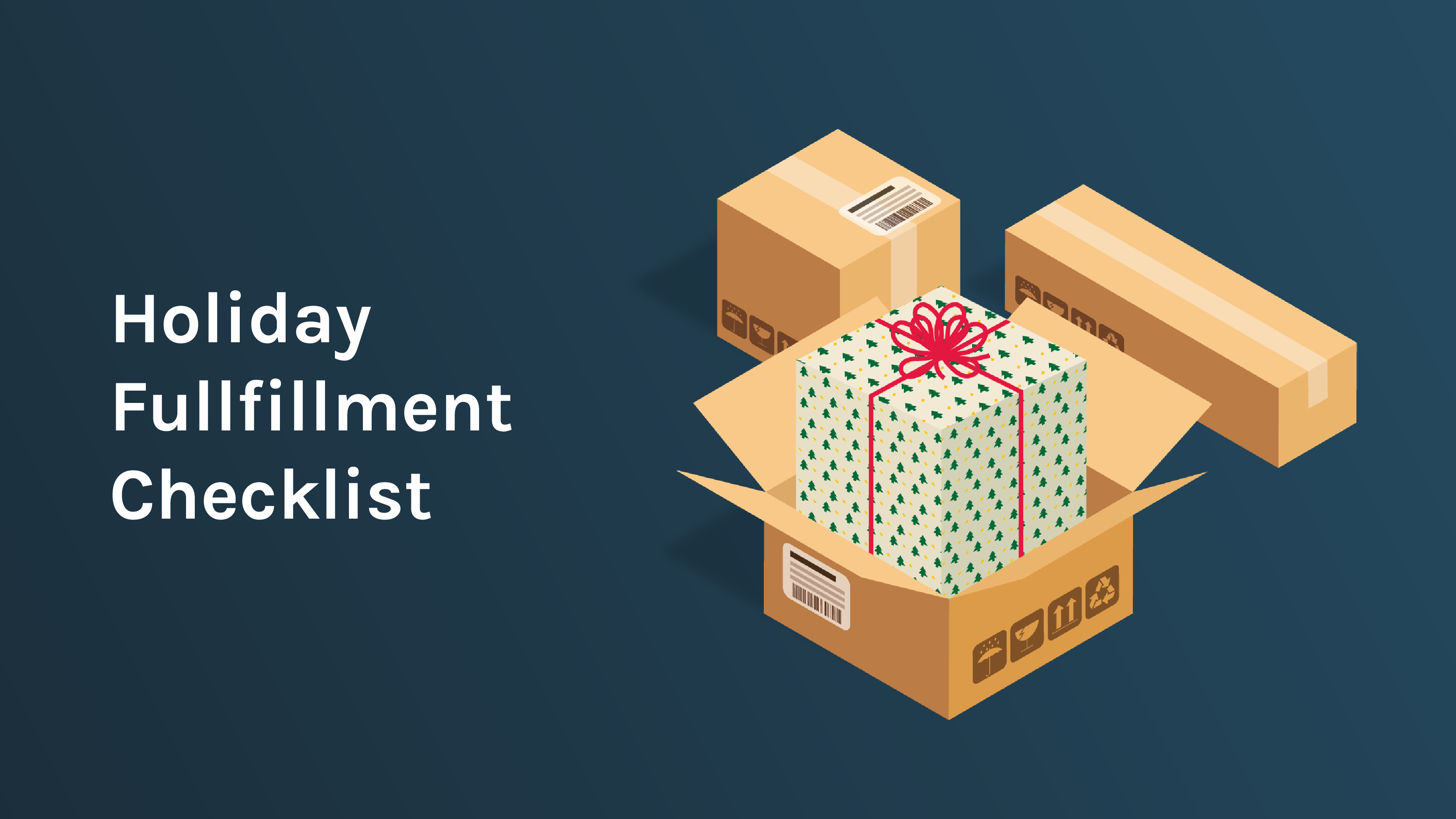 Free Downloadable Holiday Fullfilment Checklist