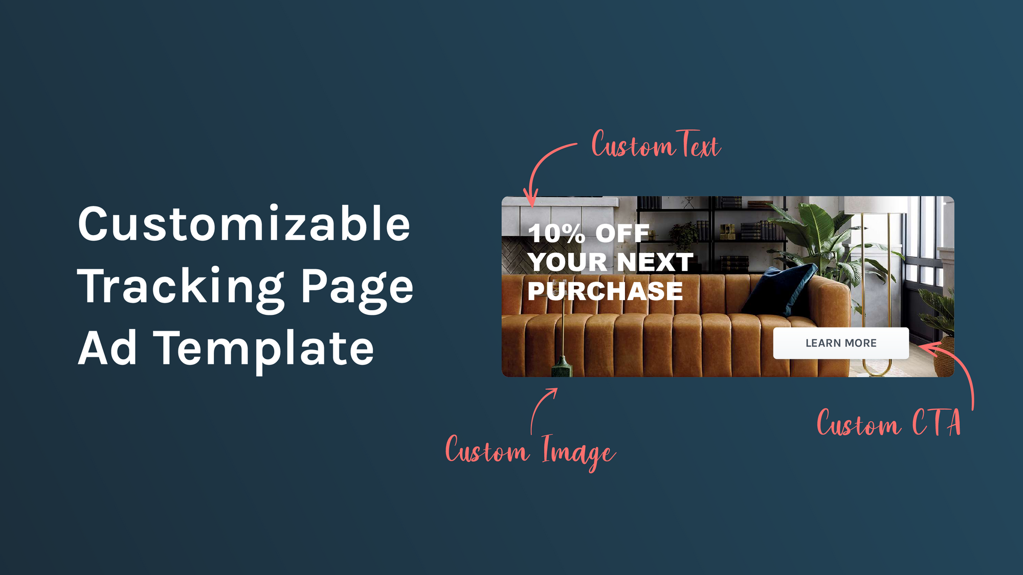 Free Downloadable Customizable Tracking Page Ad Template