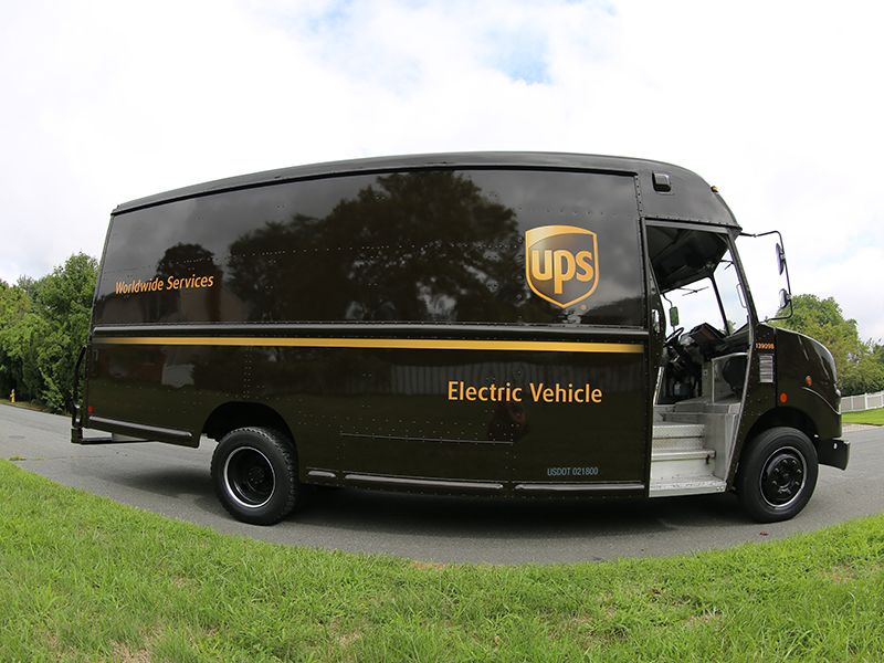 UPS Electric Vehicle for Faster Delivery Times