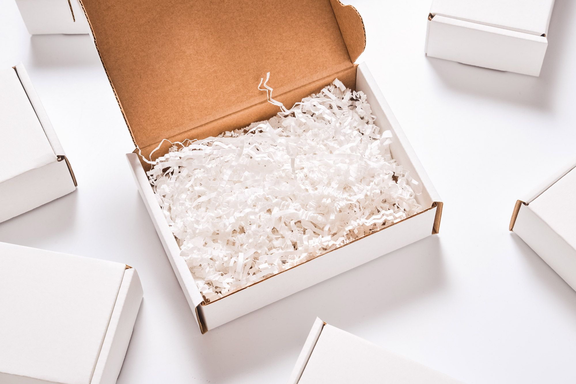 Shredded paper shipping supply