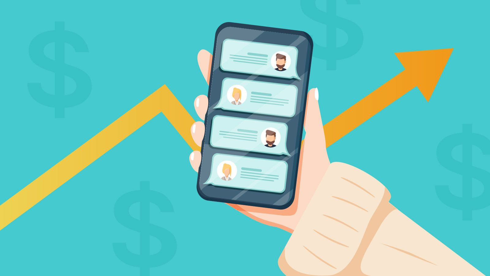 Increasing sales with eCommerce chatbots