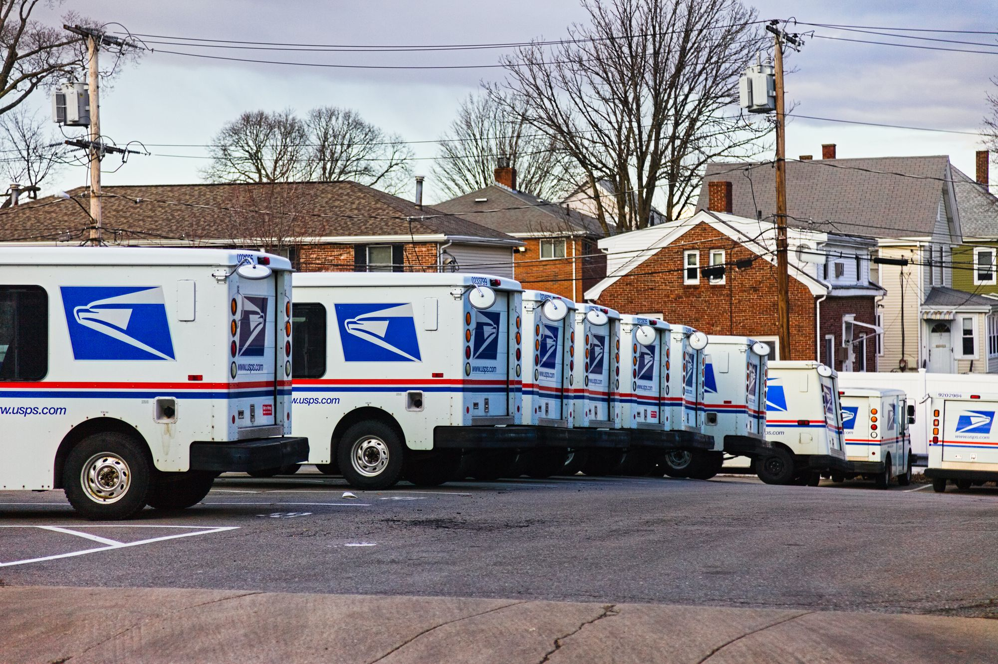 USPS Saturday and Sunday Delivery Trucks