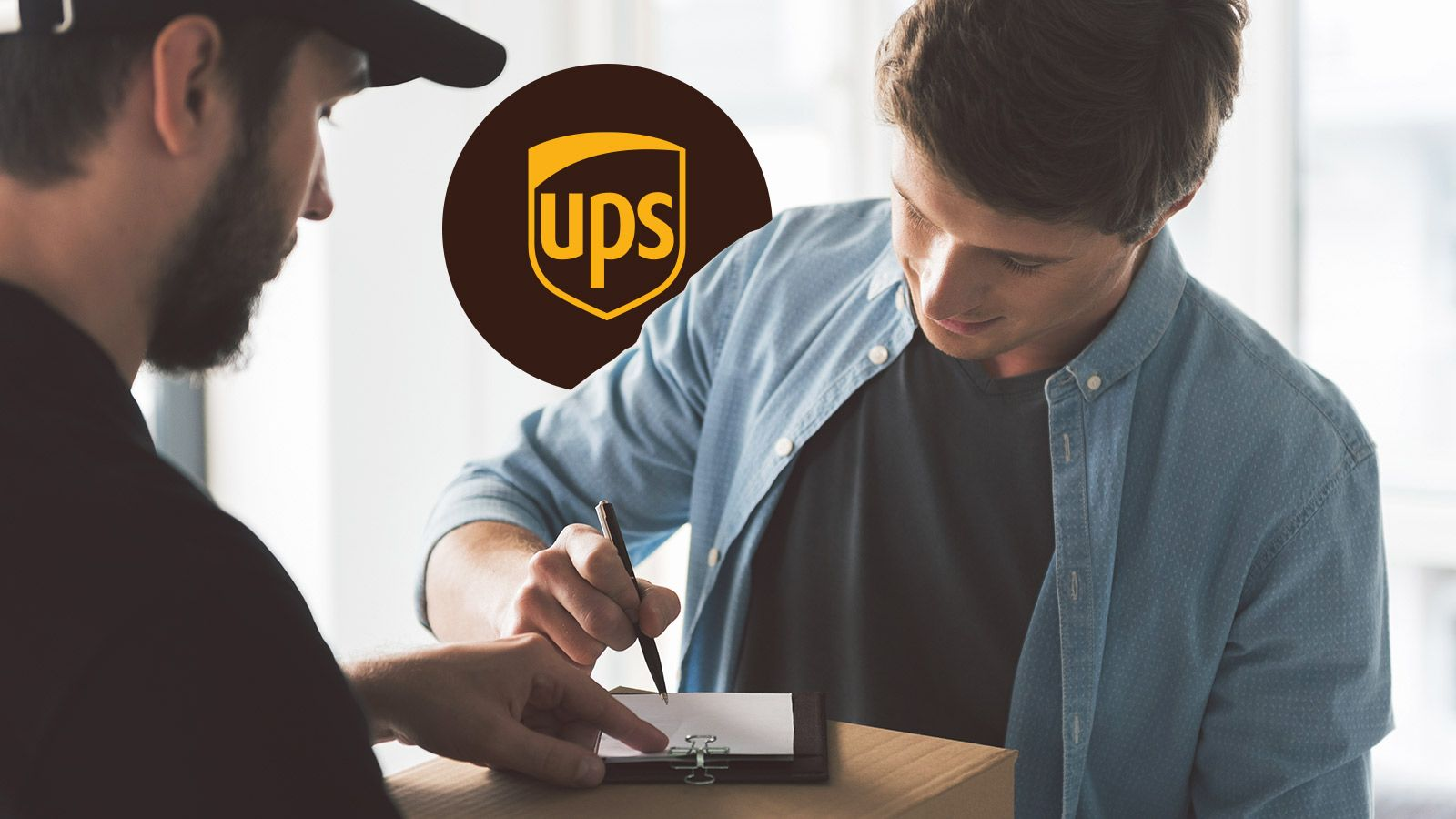 How To Use UPS Signature Required