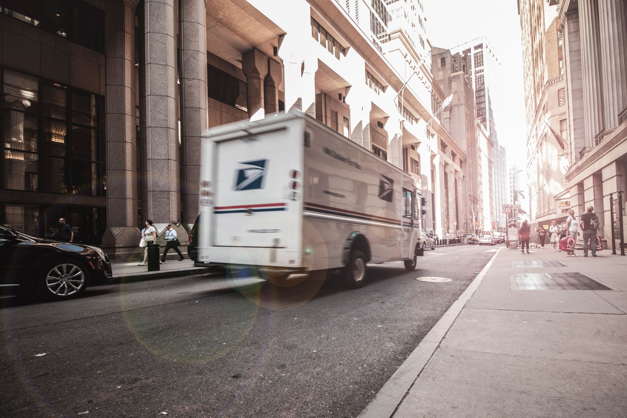 USPS Truck Express vs. Postal Shipping