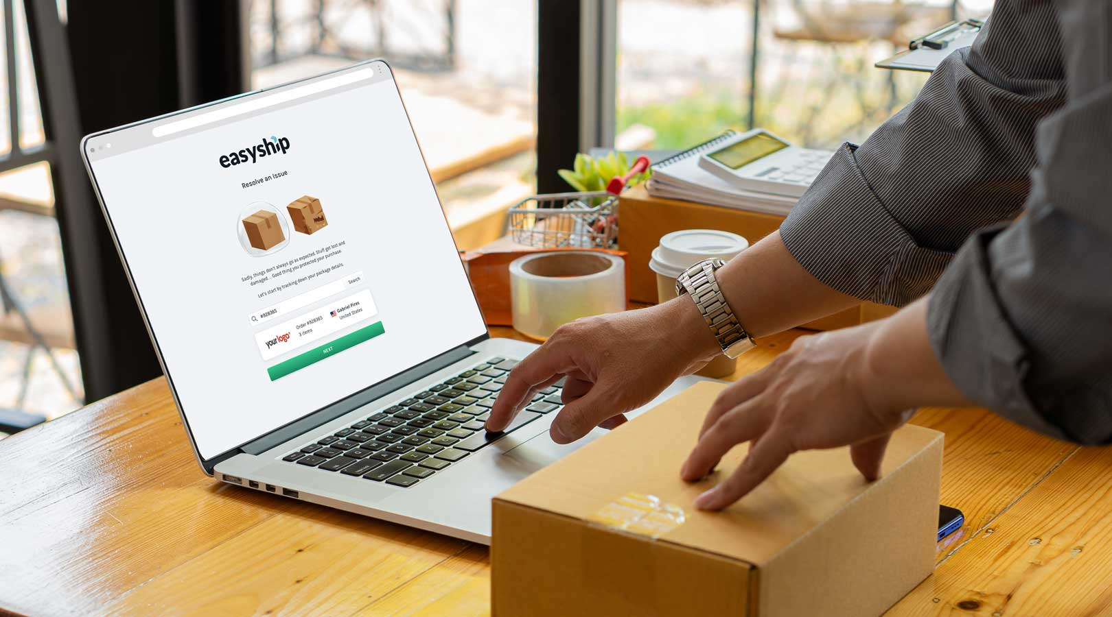 Try the Fast New Shipping Insurance Claims Process